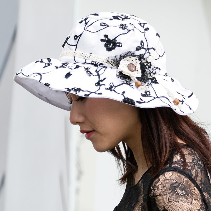 Fashion Wide Brim Beach Hats Flower Sexy cap For Women Travel Casual Panama Hat summer Sunscreen outdoors cap sombrero F1612(China (Mainland))
