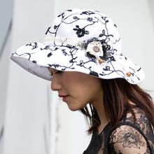 Summer Beach Hats For Women Elegant Wide Brim Hats Chapeu de praia Feminino Traval Outdoors Cap Sombreros Mujer Verano Panama(China (Mainland))