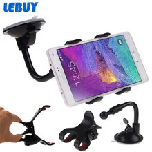 Universal 360 Degree Rotation Suction Cup Car Phone Holder for your mobile phone Car Holder For Xiaomi redmi note3 redmi3 note 2(China (Mainland))