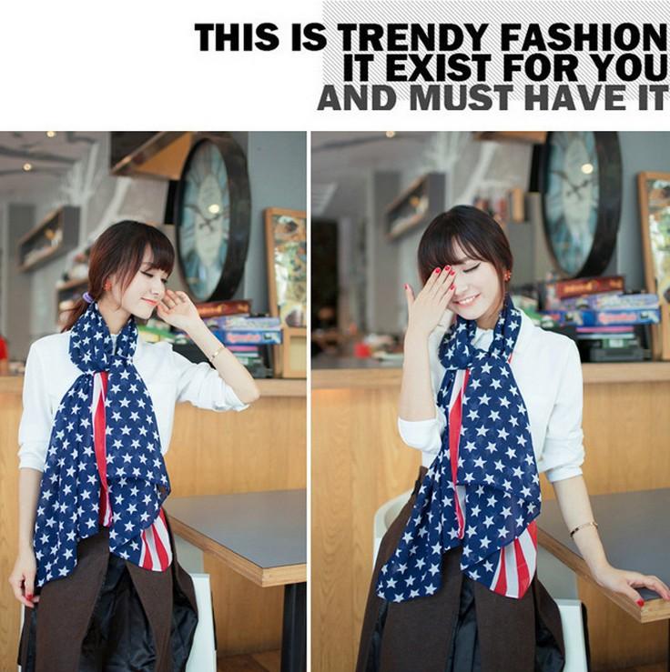 women flag scarfs fashionable all-much girls muslim hijab scarf women bandana marilyn monroe shawls scarves free shipping(China (Mainland))
