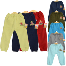 2015 HOT! New Fashion Autumn clothing Age 6-8  boys Unique Terry Clothes Harem Pants Trousers Cartoon kids Free Shipping(China (Mainland))