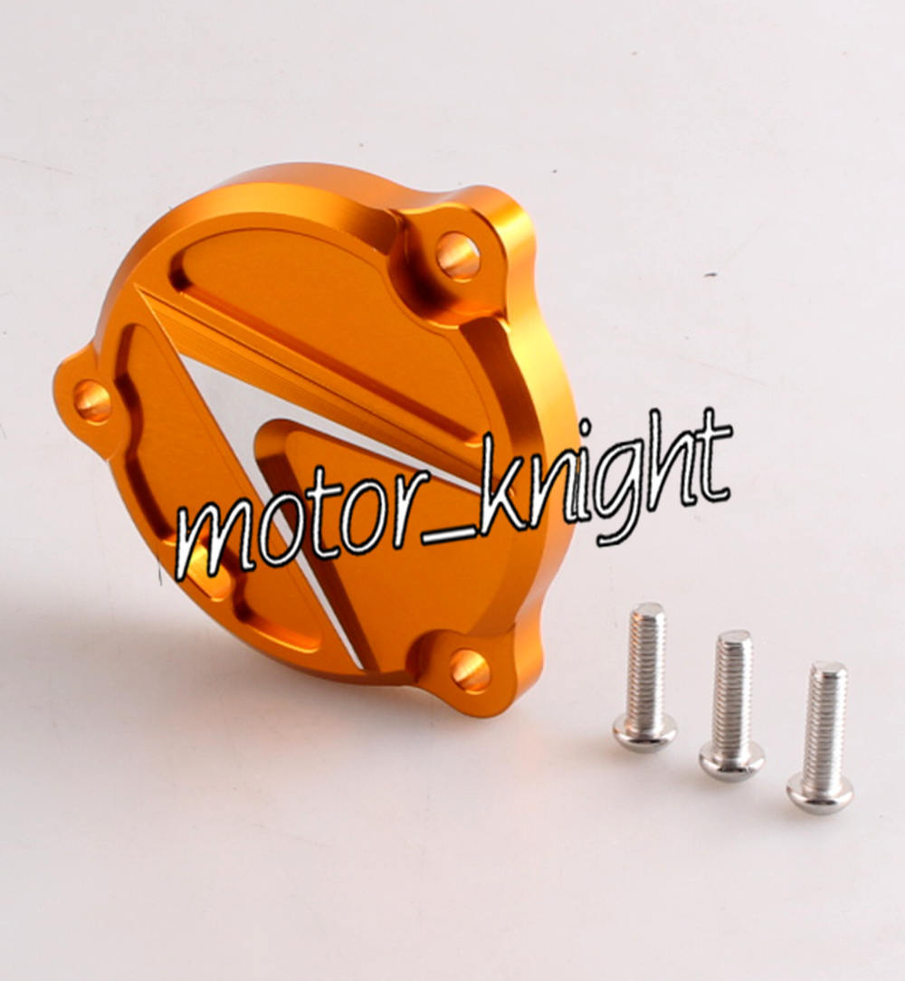 CNC Aluminum Engine Left Side Cover YAMAHA T-MAX TMAX 530 Gold - Motor_Knight store