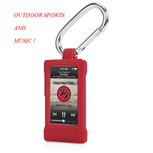 Outdoor Sports Multi-function High Quality Silicon Carabiner Case For iPod Nano7 Belt Clip With A Hook For Apple iPod Nano 7 7th(China (Mainland))