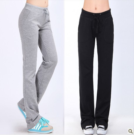 New Autumn New Korean Harem Pants Regular Striped Capris Solid Women