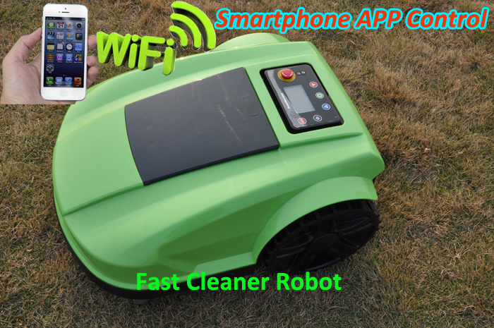TWO Year Warranty-2016 Newest 4th Generation Robot Lawn Mower S520 Updated With Newest Compass Function,Range Function(China (Mainland))