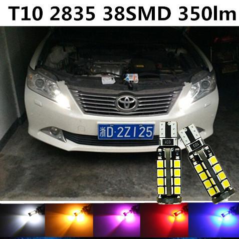 Car t10 w5w LED Bulb Clearance Light Lamp Bulb Source For TOYOTA Highlander/Prius/Alphard/CROWN/Camry/Rav4/Corolla/Yaris(China (Mainland))