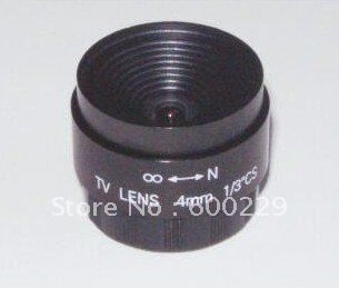 CS mount 4mm F1 2 cctv lens fixed iris cctv lens for security cctv camera