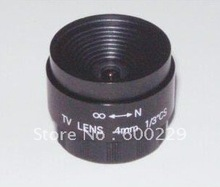 CS mount 4mm/F1.2 cctv lens fixed iris cctv lens for security cctv camera