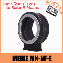 Buy MEIKE MK-NF-E Manual Focus Lens Mount Adapter Ring Nikon F Lens Sony Mirrorless E Mount Camera 3 3N 5N 5R 7 A7 A7R for $53.89 in AliExpress store