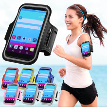 SPORTS GYM Armband Bag Case For LG Optimus G2 / G4S / G3 Mini / G4 / G3 Waterproof Running Workout Stand Phone Belt Cover
