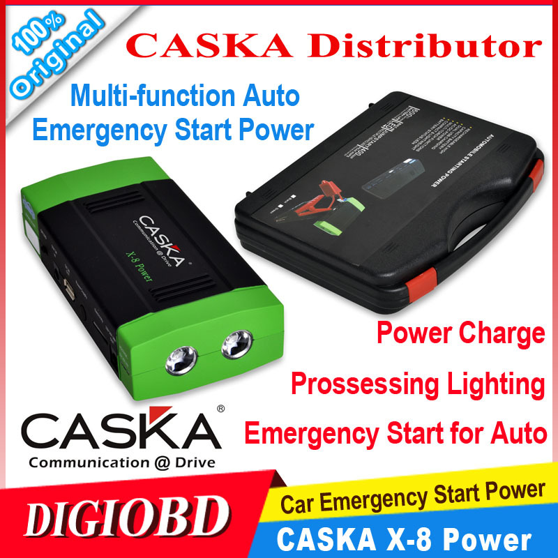 Original CASKA 13600mAh Car Jump Starter Vehicle Auto Engine booster Emergency Start Power Bank Source Phone Laptop Battery Pack(China (Mainland))