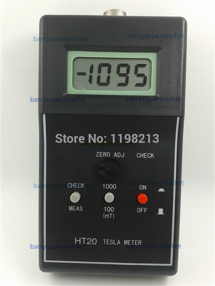 Huntoon Digital Gauss Meter---Tesla meter HT-20 fluxmeter to measure the magnetic field magnets (English Version)<br><br>Aliexpress