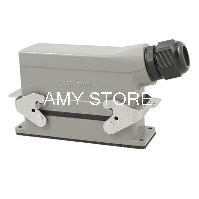 PG21 Screw Side Entry Hood 24 Pin Connector<br><br>Aliexpress