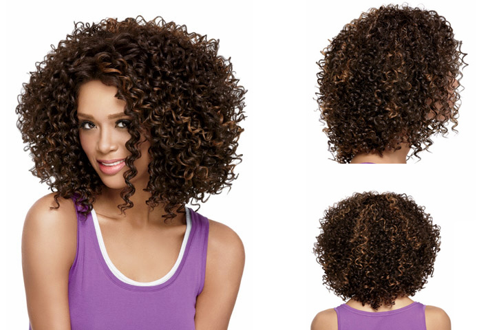 Kinky Afro Curly Short Wigs Synthetic Short Curly hair Brown wig for Black Women African American wigs Fashion Girl Ladies Wigs(China (Mainland))