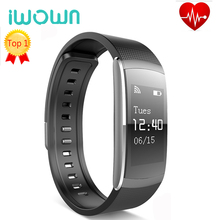 Buy 2017 New IWOWN I6 PRO Smart Wristband Heart Rate Monitor IP67 Waterproof Smart Bracelet Fitness Tracker support Andriod IOS for $29.04 in AliExpress store