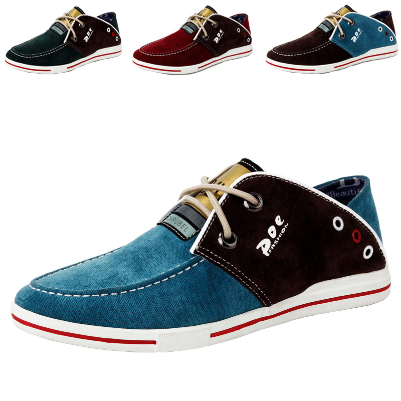 Korean Style fashion canvas men shoes big size 38-47 manufacturer - Fashion Online Global store
