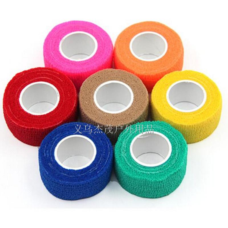 Outdoor Medical Bandage first aid kit Waterproof Adhesive elastic bandage Self adhesive breathable Tape Colorful Pet Bandage(China (Mainland))