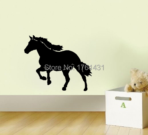 Big Horse Western Kids Room decoration wall art vinyl home decor living room decorative stickers kids room wallpaper