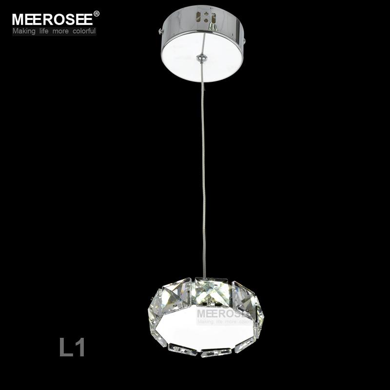 Small Crystal LED Pendant Lights Fixture Star Round Square Shape Hanging Suspendu Lamp Aisle Corridor Porch Lamp Modern Lighting(China (Mainland))