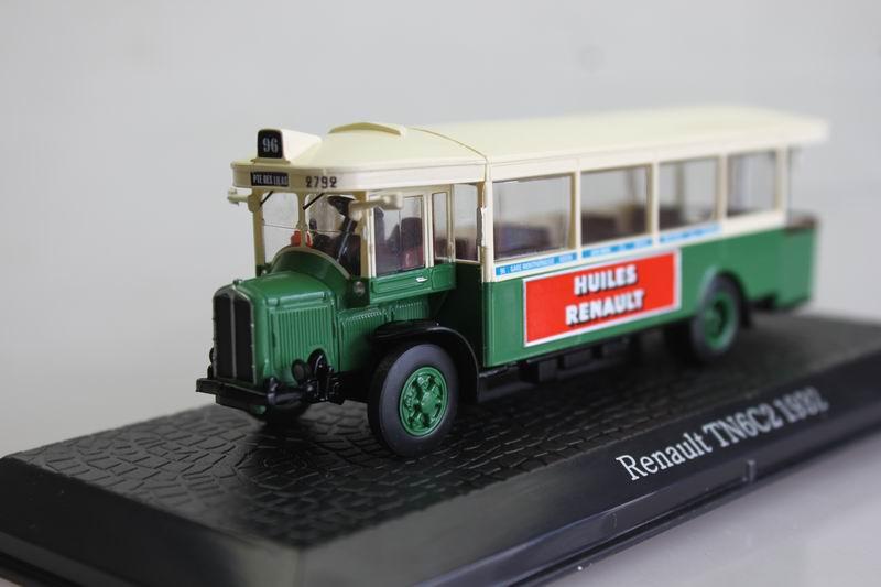 ATLAS 1: 72 Renault TN6C2 1932 Bus Bus Model Favorite Model(China (Mainland))
