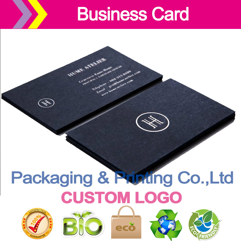 400g thick card color card custom business CARDS in