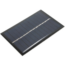 6V 0.6W Solar Power Panel Poly Module DIY Cell Charger For Light Battery Phone Portable Drop Shipping