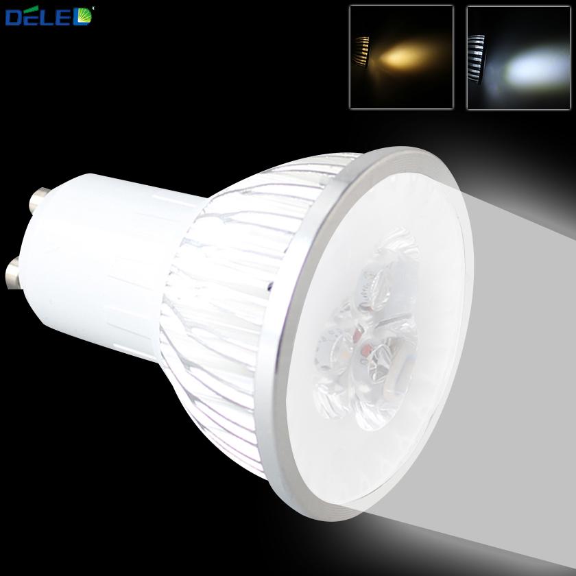 GU10 Bright LED Spotlight Bulbs No Flicker White Warm/Cool Energy Saving LED Night Lighting Lamps for Home Display Chandelier(China (Mainland))