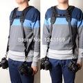Quick Rapid Double Shoulder Camera Belt for 2 SLR DSLR Cameras LF310