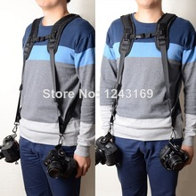 Double Shoulder Camera Belt for 2 DSLR Cameras