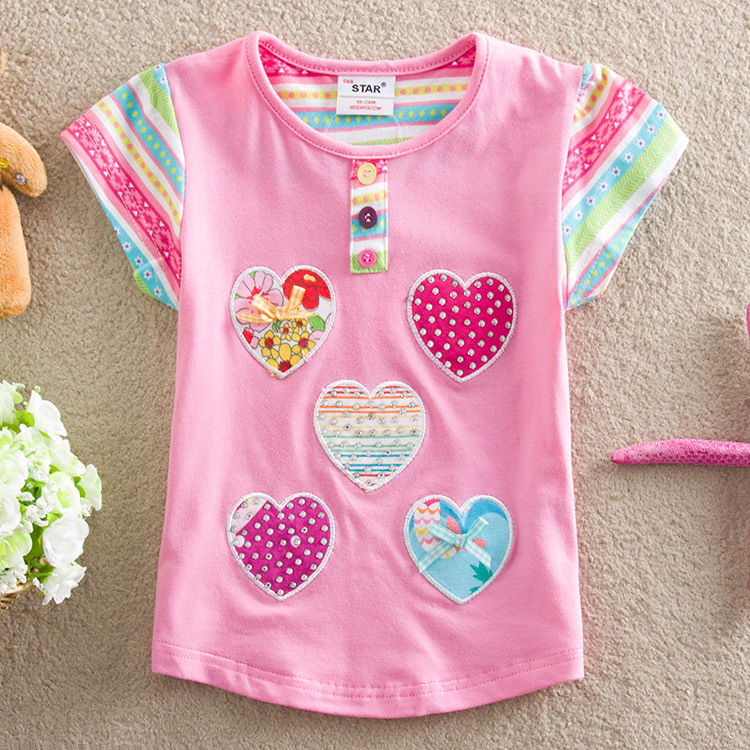 Embroidery shirts for girls makaroka