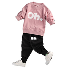 KEAIYOUHUO 2017 Baby Boys And Girls Clothes Set Long Sleeve Sport Suit For Boys Children Clothing Cotton Costume For Kids Suits()