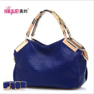The new Shoulder Bag Handbag Crossbody Bag Korean fashion crocodile in autumn(China (Mainland))