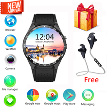 [Genuine] Kw88 Android 5.1 OS Smart Watch MTK6580 Quad Core Smartwatch Support 3G WIFI bluetooth Google Voice GPS Map Nano SIM(China (Mainland))
