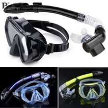 Hot Selling Summer Scuba Diving Mask Snorkel Glasses Set Silicone Swimming Pool Equipment(China (Mainland))