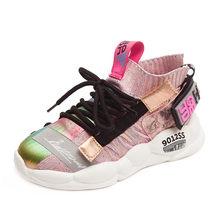 2019 סתיו ילדי נעלי בנות נעלי בני אופנה מזדמן ילדי נעלי ילדה ספורט ריצה ילד נעלי Chaussure Enfant(China)