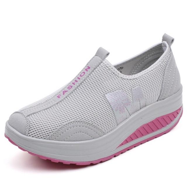 Женские туфли женские летние похудения обувь женская дышащий качели обувь лучшие ...