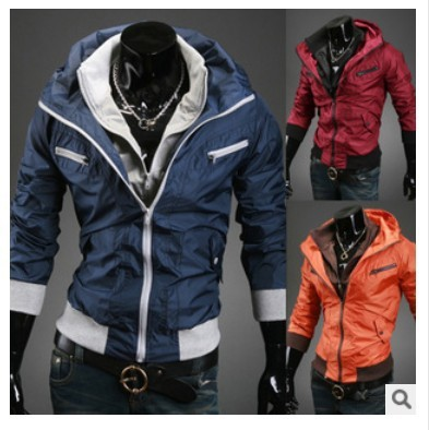 New casual hip hop brand winter waterproof jacket men clothes outdoor baseball coats windbreaker