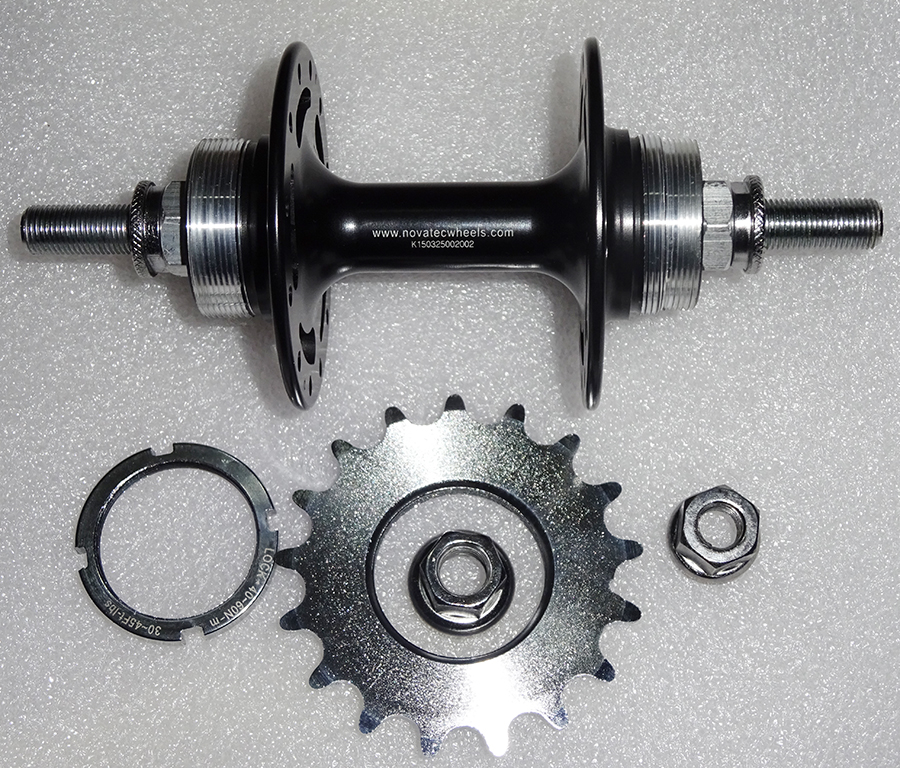 Фотография Novatec A165SB  A166SB Fixed Gear hub single speed bike hub bearing super light bicycle hubs 32 holes