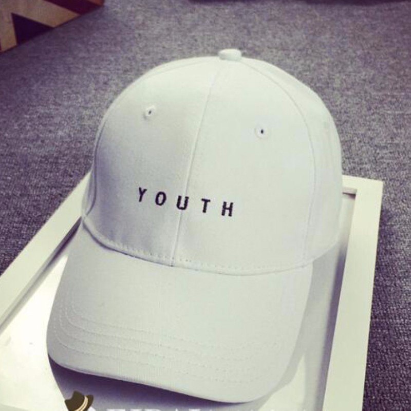 HT509 Wholesale Hot Brand Golf Cap Baseball Cap Fitted Hat Casual Cap Gorras 6 Panels Men Women 3D Embroidery Letters YOUTH Caps