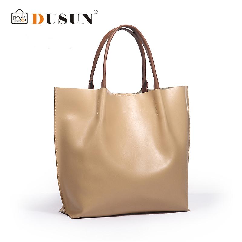 Genuine leather bag fashion women handbag vintage women bag casual shoulder bags women tote office shopping bolsas femininas sac(China (Mainland))