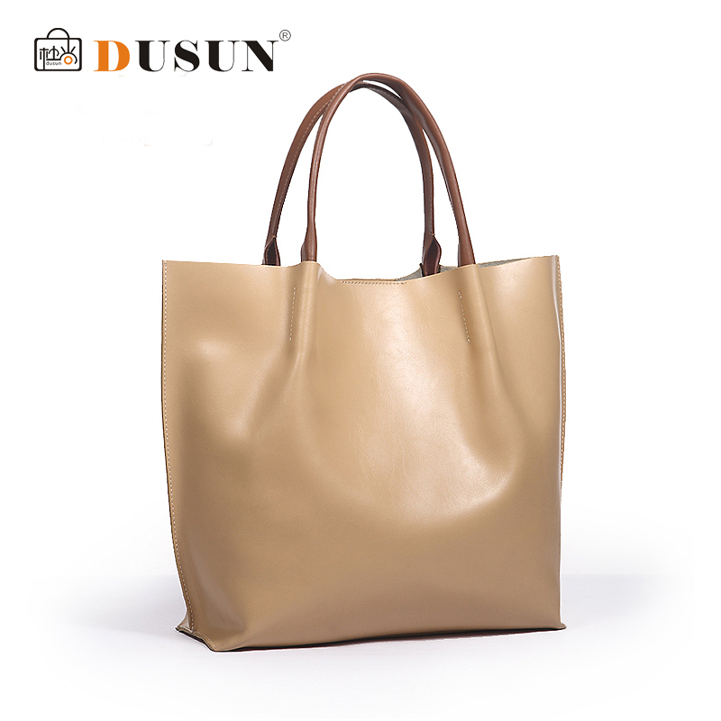 Genuine leather bag fashion women handbag vintage women bag casual shoulder bags women tote office shopping bolsas femininas sac(China (Mainland))
