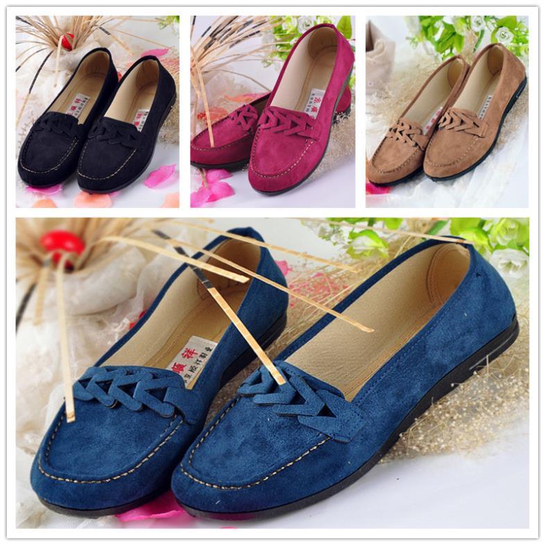 Old Peking Bowknot Women's Shoes,Cotton Cloth Chinese Traditional Women's Flat,Old Beijing Comfortable Soft Walking Women Flat