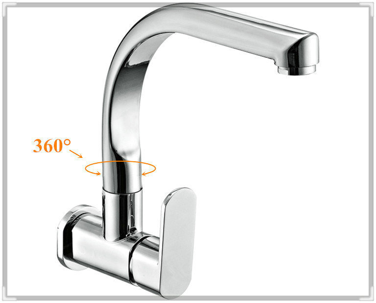 In Wall Kitchen Faucet For Kitchen Single Cold Tap Sink