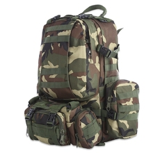 Buy 50L Multifunction Molle Tactical Camouflage Backpack Outdoor Sport Climbing Hiking Camping Sports Bags Climbing Hunting Bag for $45.24 in AliExpress store