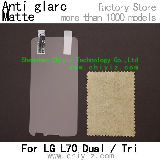 1x Matte Anti glare LCD Screen Protector Guard Cover Film Shield For LG L70 Dual SIM