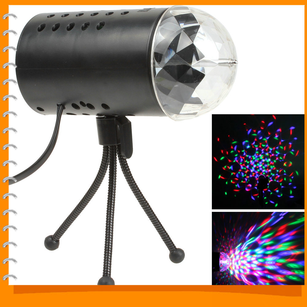Auto RGB Colorful LED 3W Magic Ball Light Disco Stage Lighting Effect LED Crystal Lamp for DJ Bar Party<br><br>Aliexpress