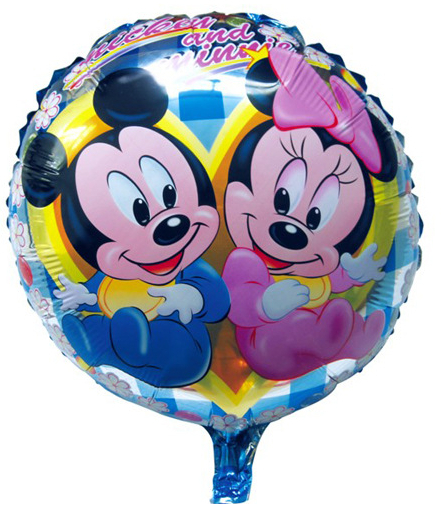 1NEW 18inch Cartoon Blue Mickey Mouse Foil Balloons Wedding Birthday Party Decoration Helium Balloon Child's Holiday Gifts - Come Money Store NO.1 store