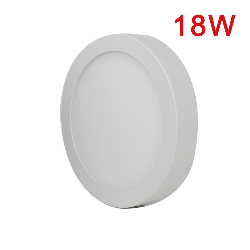 xtf2015 Cool White 6000-6500k 18W LED Panel Light Super Bright Ceiling Downlight Lamp Kit with LED Driver MZD18(China (Mainland))