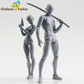 2 Style Body Chan Pale Gray Color 15cm Figma Bandai SHF Ferrite PVC Action Figure Figma