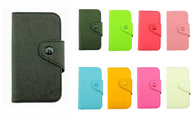 Fancy PU Leather Wallet Case Cover With Magnetic flap closure Diary for Samsung Google Nexus S i9020 Smart Mobile Phones
